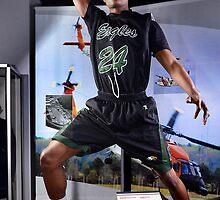 Northeastern basketball player Aarron Carver, Monday, March 25, 2013. by Brett Clark