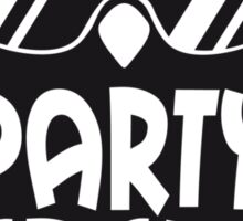 Cool Party Crew Penguin Sticker