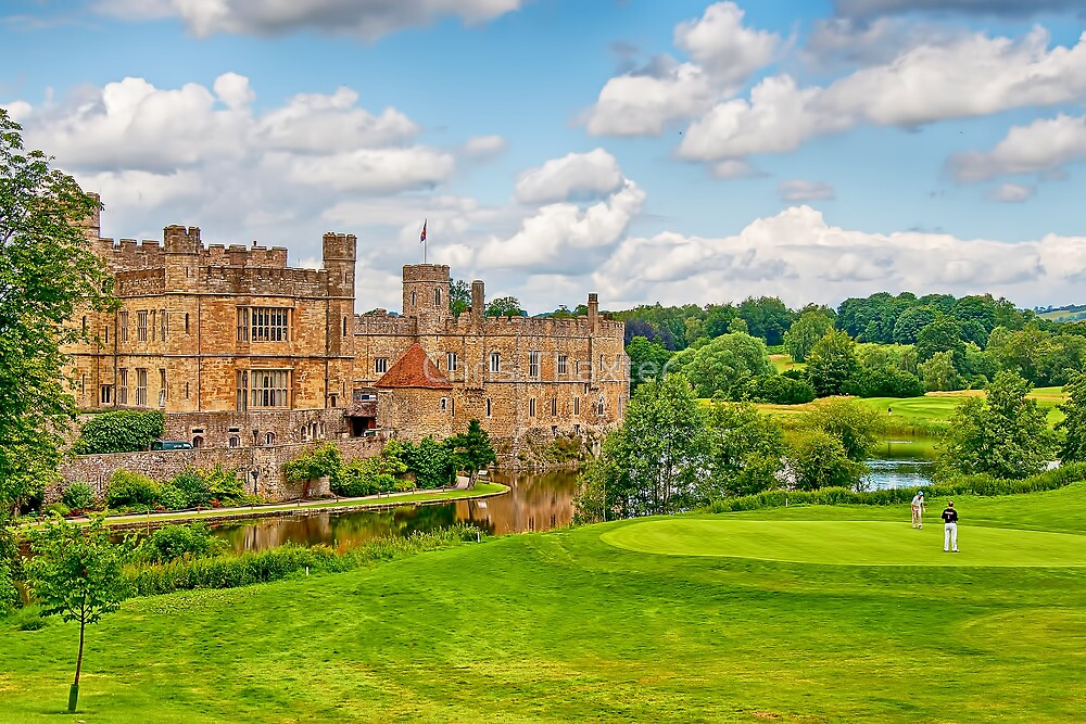 Leeds Castle Golf 3 by Chris Thaxter
