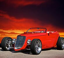 1933 Ford Custom Roadster I by DaveKoontz
