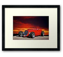 1933 Ford Custom Roadster I Framed Print