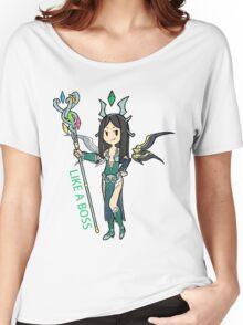 Smite - Like a boss (Chibi) Women's Relaxed Fit T-Shirt