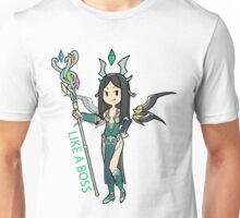 Smite - Like a boss (Chibi) Unisex T-Shirt