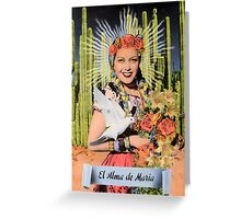 The Soul of Mary Greeting Card