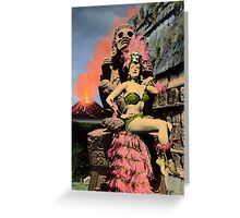 The Fire Goddess Greeting Card