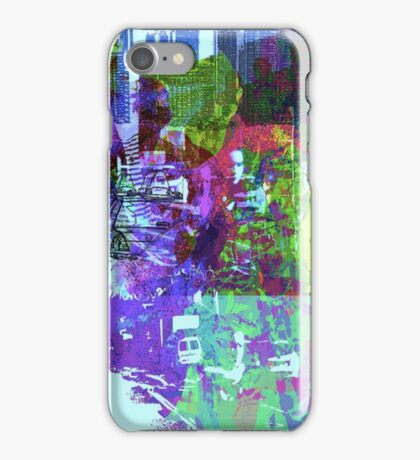 neon city iPhone Case/Skin