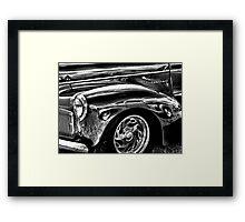 Vintage Stude Framed Print