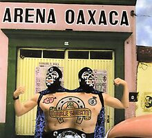 The Luchadors Double & Luck by Bill Blair