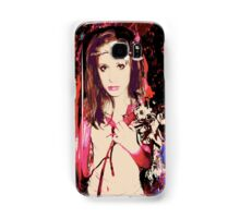 retro girl Samsung Galaxy Case/Skin
