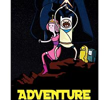 Adventure time star wars  by abata