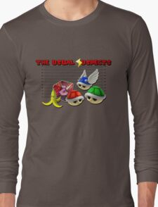 THE USUAL SUSPECTS - MARIO KART Long Sleeve T-Shirt
