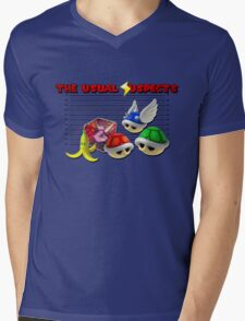 THE USUAL SUSPECTS - MARIO KART Mens V-Neck T-Shirt