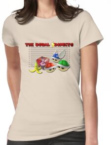 THE USUAL SUSPECTS - MARIO KART Womens Fitted T-Shirt