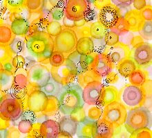 Waves of Juicy Art card by Regina Valluzzi