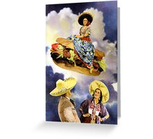 XOCO Collection: The Flying Torta Greeting Card