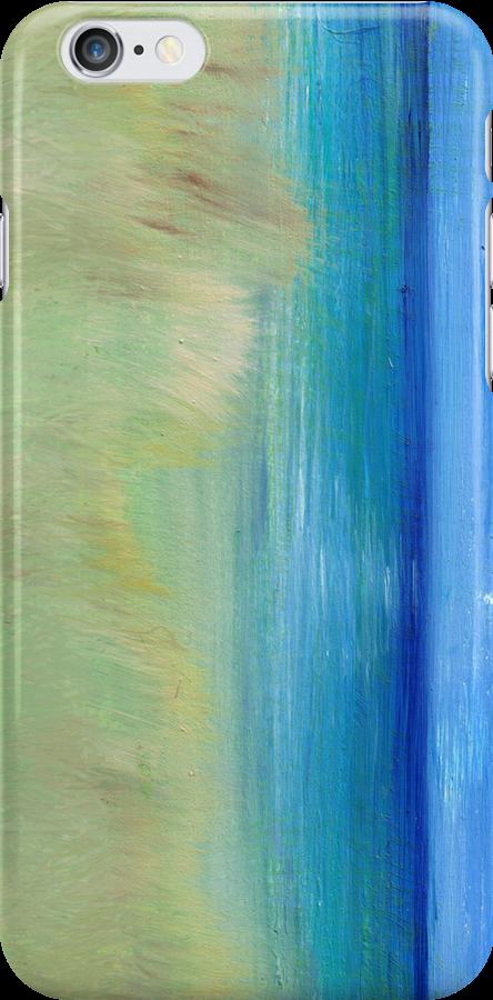 beachy phone case by Regina Valluzzi