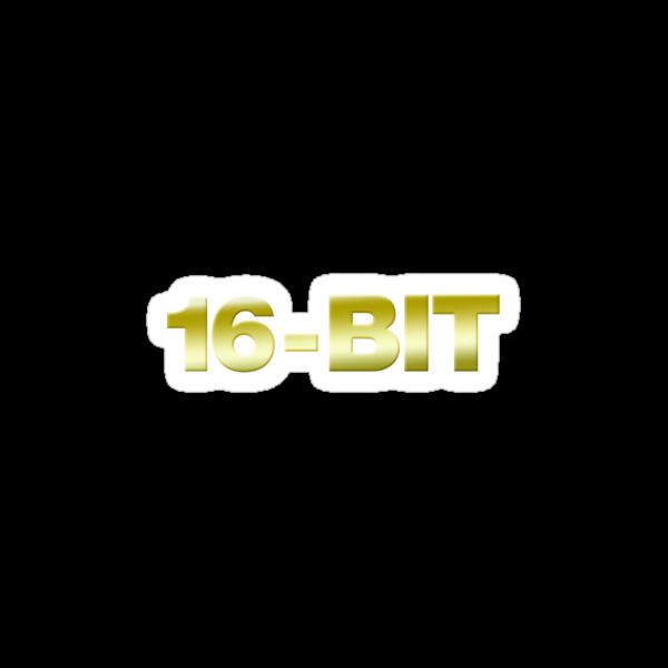 16 - Bit Gamer Video Games Geek by GeekGamer