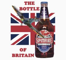 The  Bottle Of Britain Tee Shirt One Piece - Short Sleeve