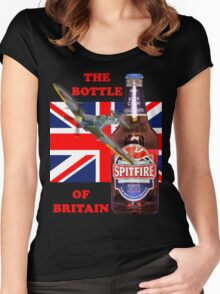 The  Bottle Of Britain Tee Shirt Women's Fitted Scoop T-Shirt