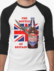 The  Bottle Of Britain Tee Shirt Men's Baseball ¾ T-Shirt
