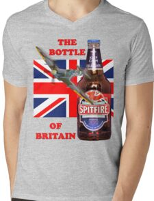 The  Bottle Of Britain Tee Shirt Mens V-Neck T-Shirt