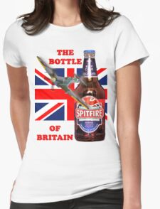 The  Bottle Of Britain Tee Shirt Womens Fitted T-Shirt