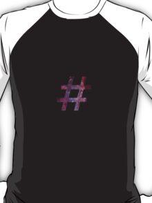 hashtag t-shirt, hoodie and sticker T-Shirt