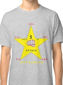 JKD 5 ways of Attack JKD Classic T-Shirt