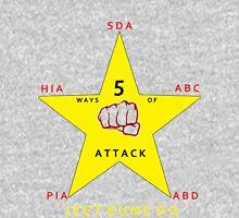 JKD 5 ways of Attack JKD Unisex T-Shirt