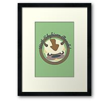 Visit Skybison Ranch Framed Print