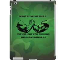Pushing Pencils Predator iPad Case/Skin