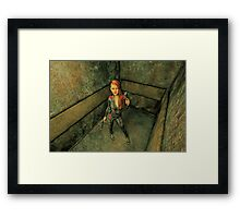 The Elevator - Going Up Framed Print