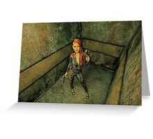 The Elevator - Going Up Greeting Card