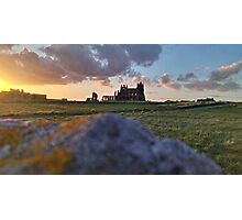 Whitby Abbey Sunset Photographic Print