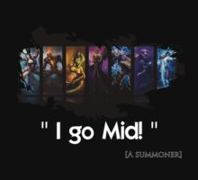 League of Legends - Mid by Zoster91