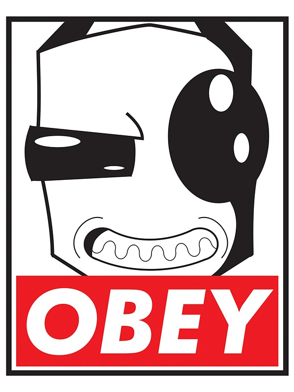 Obey Zim Stickers By Omitted