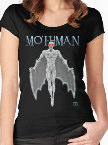 Mothman Women's Fitted Scoop T-Shirt