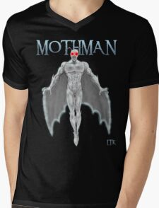 Mothman Mens V-Neck T-Shirt