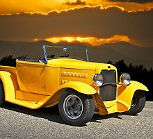 1930 Model A Ford Roadster Pick-Up by DaveKoontz