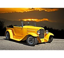 1930 Model A Ford Roadster Pick-Up Photographic Print