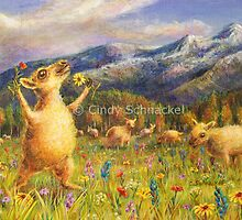 Ovine Joy by Cindy Schnackel