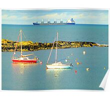 Groomsport On A Sunny Afternoon Poster