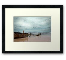 The Wreck of the Maheno Framed Print