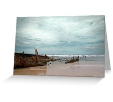 The Wreck of the Maheno Greeting Card