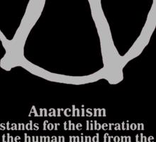 Anarchy. Sticker