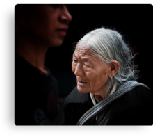 Old Enough to Remember a Free Tibet Canvas Print