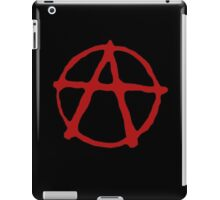 Anarchy in red. iPad Case/Skin