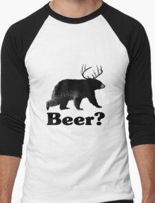 Beer? Men's Baseball ¾ T-Shirt