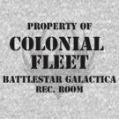 Colonial Fleet Battlestar Galactica Rec. Room by Robb Cozby III