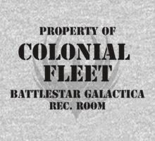 Colonial Fleet Battlestar Galactica Rec. Room by trebory6